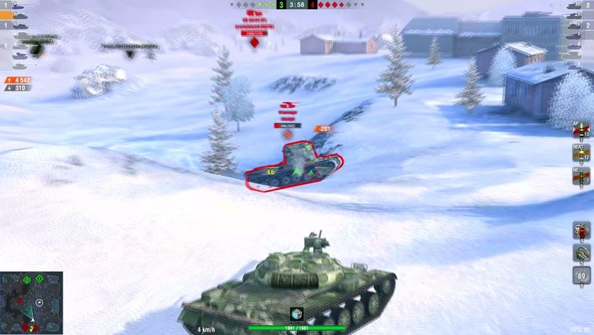 Obj.140 8211DMG 3Kills   World of Tanks Blitz   olivier8706