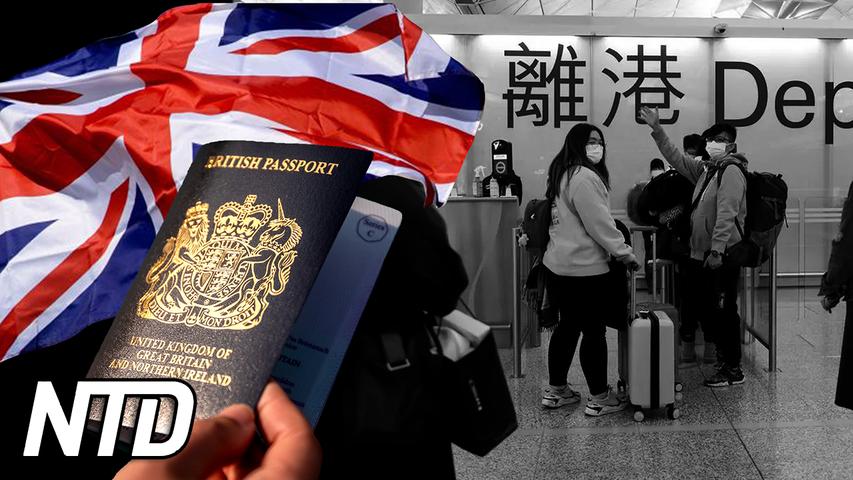 Brittiska lagstiftare: Utöka visum till unga demonstranter i Hongkong | NTD NYHETER