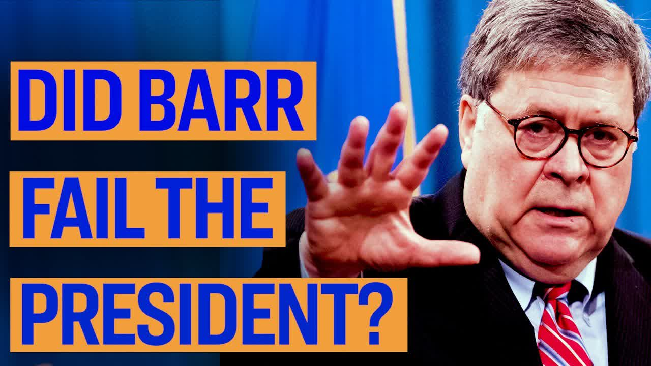 Did Bill Barr Fail the President?| Declassified | Gina Shakespeare