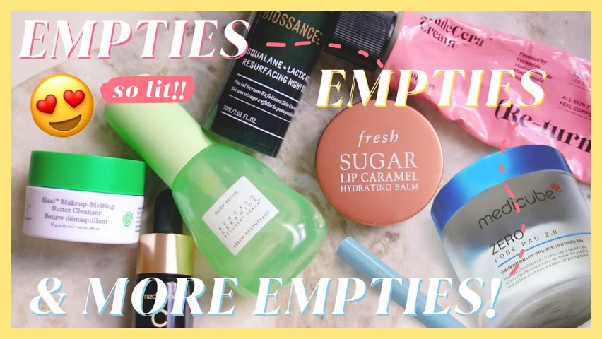 Products We Finished! 💪Which ones are actually worth repurchasing? October Empties (2021)