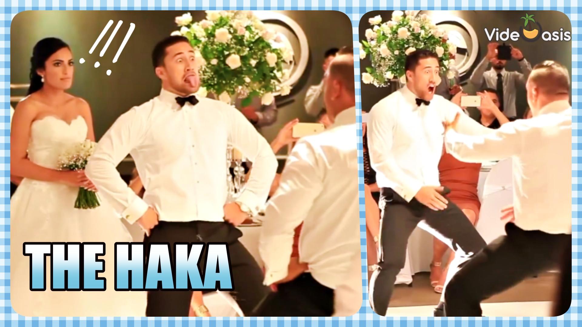 Haka Dance in Wedding Party | VideOasis
