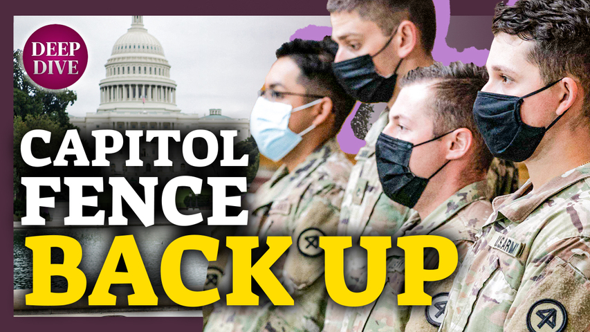 Capitol Fence Back Up, National Guard Called in Ahead of Sept. Rally; Microsoft: Passwordless Logins