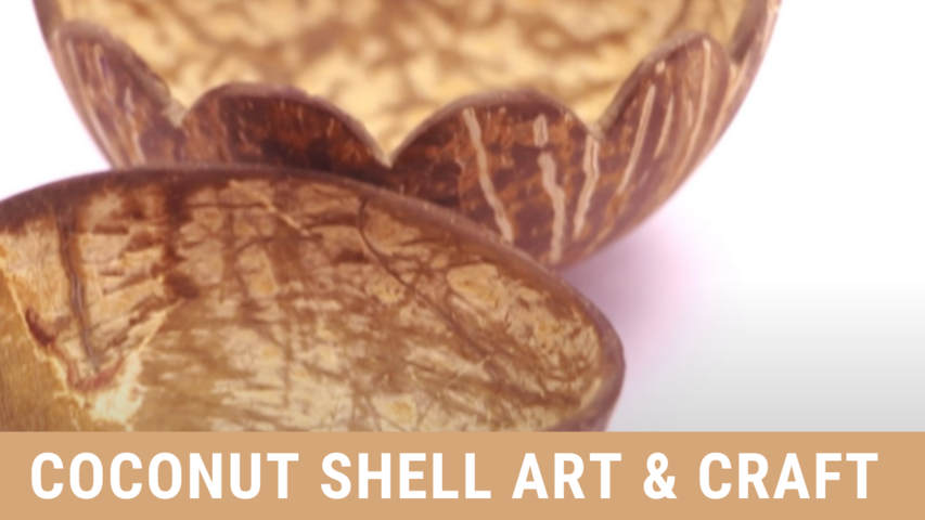 Coconut Shell Art & Craft