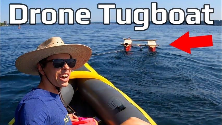 Building a Solar Powered Kayak Tug Boat - Pt.2