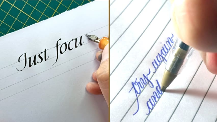 10 CALLIGRAPHERS WRITING THE BEST ADVICE THEY GOT ON CALLIGRAPHY | CALLIGRAPHY MASTERS