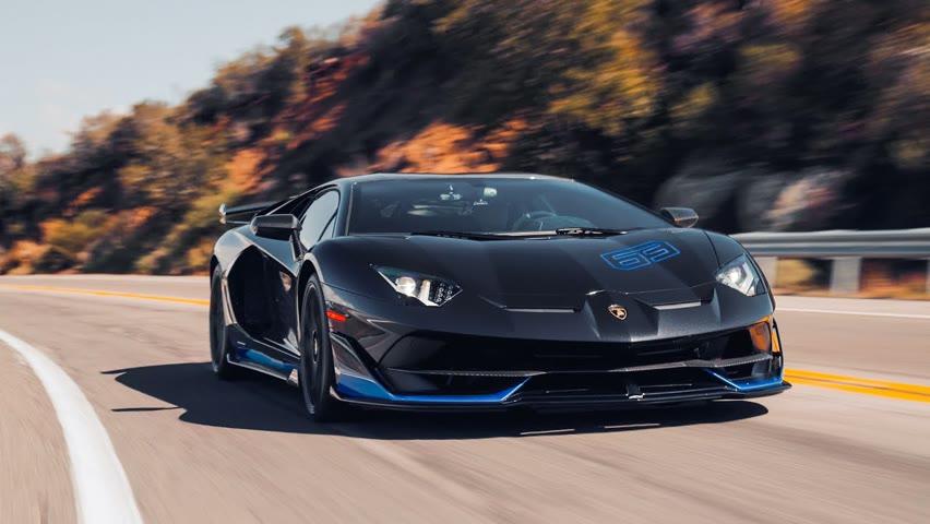 1 of 63 Lamborghini Aventador SVJ in [4K]