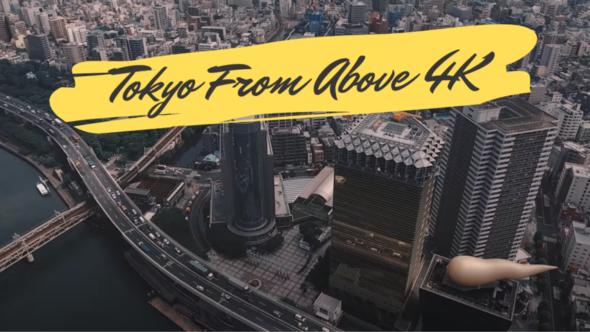 Tokyo From Above 4K