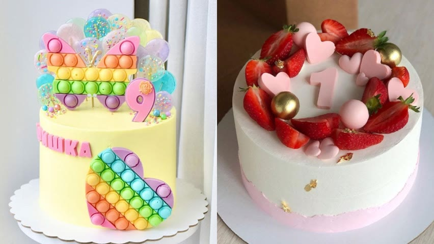 Amazing HEART Cake Decorating Ideas For Your Lover | So Yummy Cake Tutorials | Cake Style