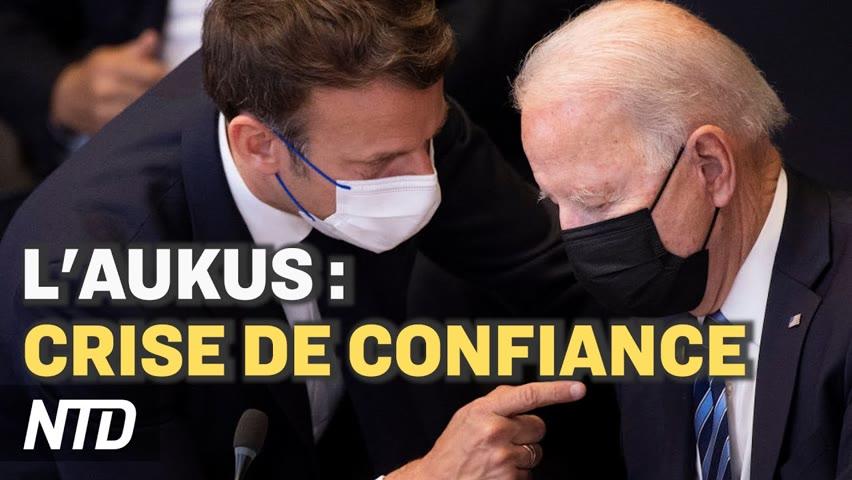 """L'AUKUS : """"crise de confiance"""" pour la France ; Macron demande pardon aux Harkis au nom de la France"""