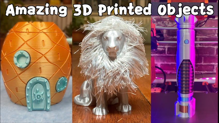 6 SUPER-AMAZINGLY-COOL 3D Printed Objects 2021