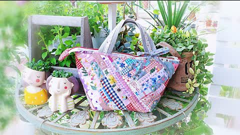 DIY Fabric Scraps Idea ┃Lovely Tote Bag Best Gift Ever