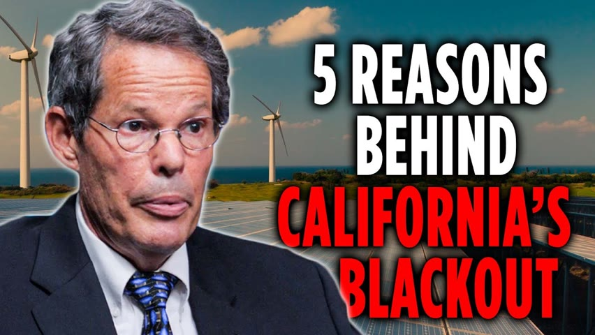 Five Reasons Behind California's Blackouts | Jim Phelps 2021-08-04 19:21