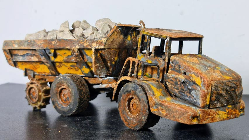 Volvo Dumper - Restoration Abandoned Dumper Truck