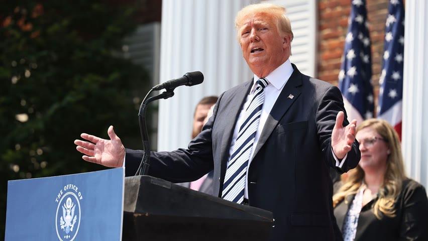 Trump attaque les Big Tech en justice