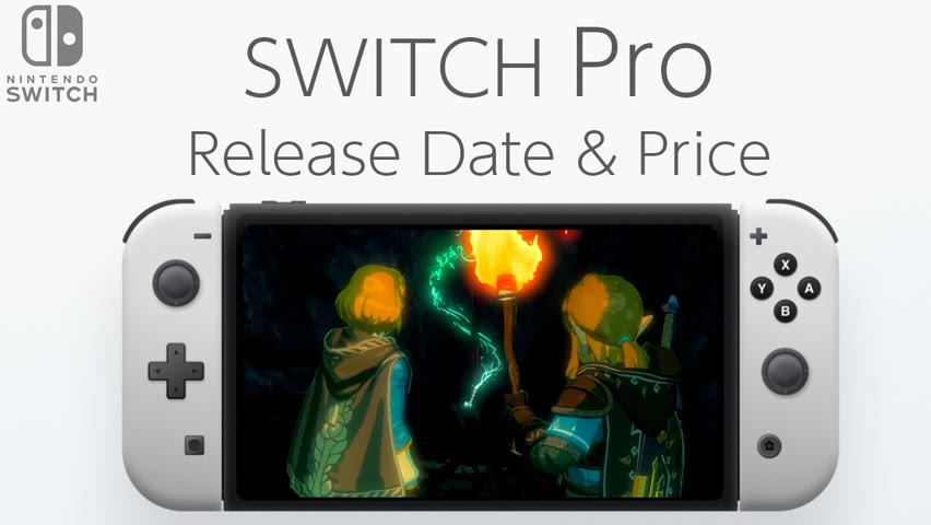Nintendo Switch Pro Release Date and Price – Zelda Breath of the Wild 2 Launch Date!