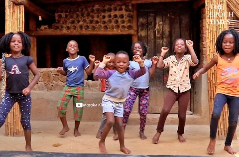 Kids Dancing and Having a Good Time