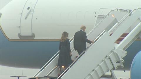 9/11: POTUS, FLOTUS Leave With En Route To Pennsylvania