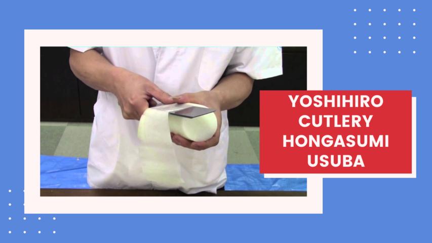 Yoshihiro Cutlery Hongasumi Usuba