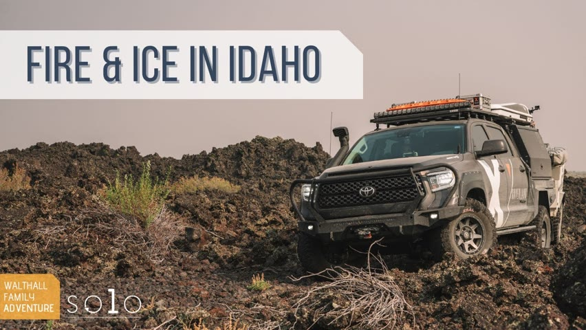 Exploring Idaho's Ice Caves, Lava Fields and Hot Springs! X Overland's Walthall Solo Series EP12