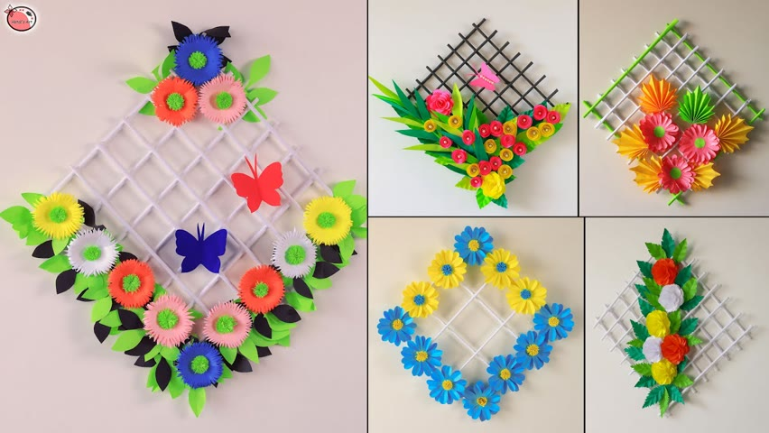 ❤️Beautiful DIY Paper Wall Hanging!