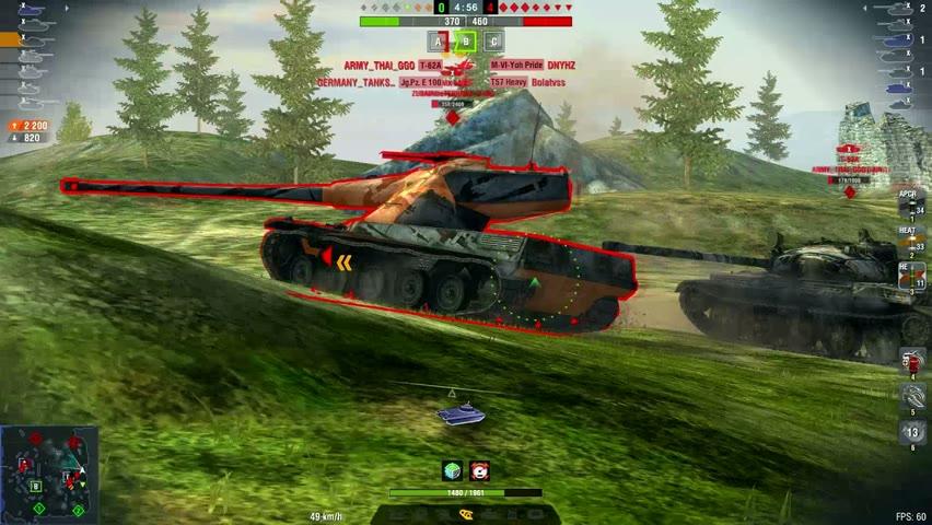 T-22 Medium 8518DMG 7Kills   World of Tanks Blitz   My_Nuts_10000kg_Pai