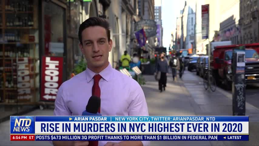 Murders Continue to Rise in New York City