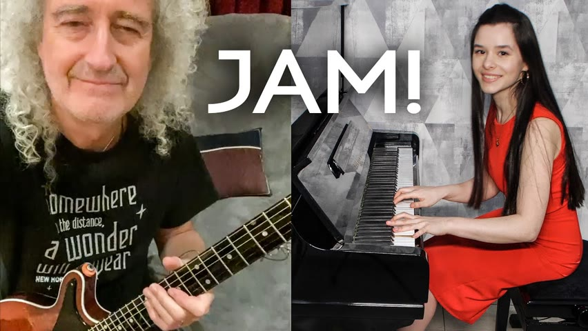 We Are The Champions - Yuval Salomon (Jam with Brian May from Queen)