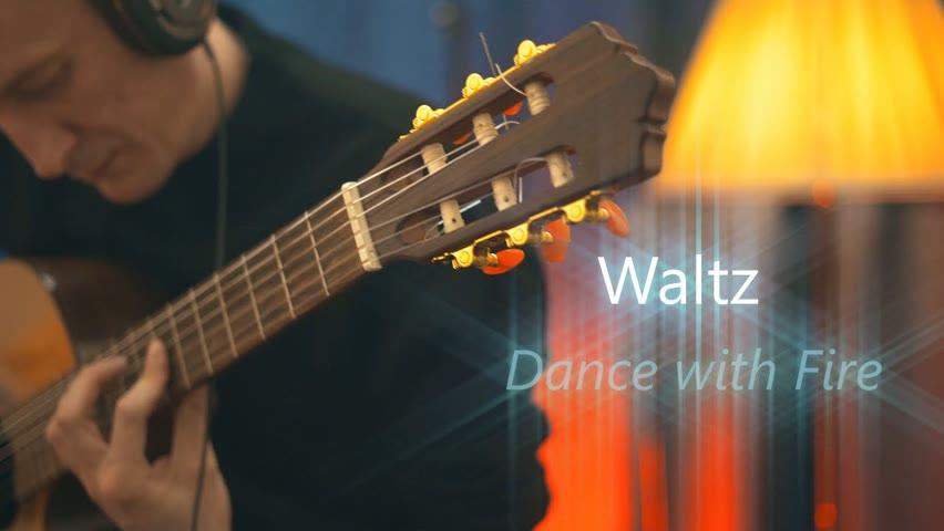 Waltz - Dance with Fire | Guitar - Filippov Ilya