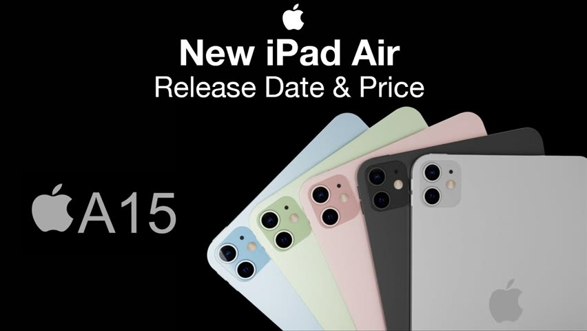 iPad 2021 and NEW iPad Air Release Date and Price– iPad Air OLED?