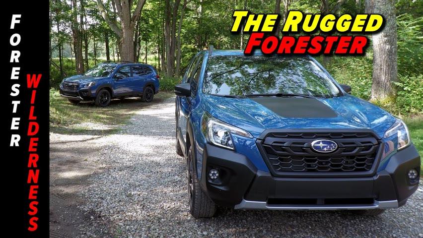 2022 Subaru Forester Wilderness First Look!