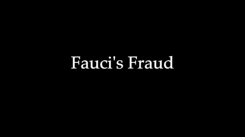 Fauci Fraud, liar liar hand full of blood