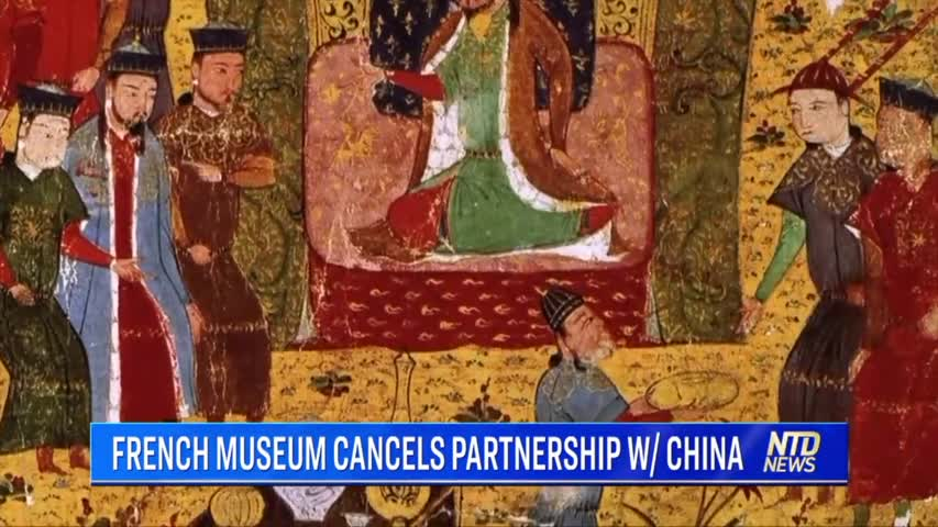 FRENCH MUSEUM CANCELS PARTNERSHIP W/ CHINA
