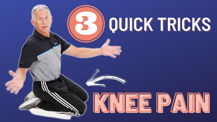 3 Quick Tricks to Help Take Away Your Knee Pain