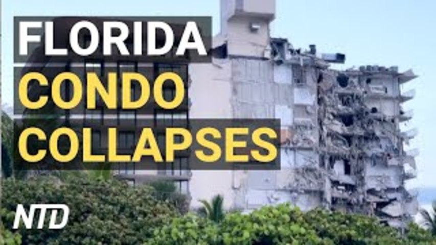 Florida Condo Collapses, Many Feared Dead; Border Patrol Chief Stepping Down; John McAfee Found Dead