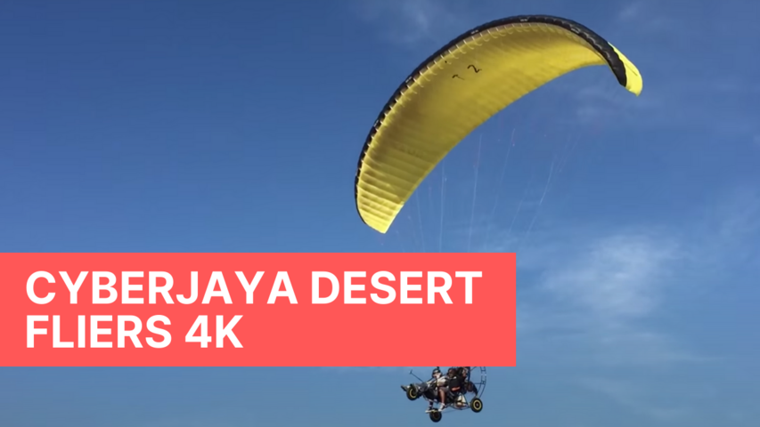 Cyberjaya Desert Fliers 4K