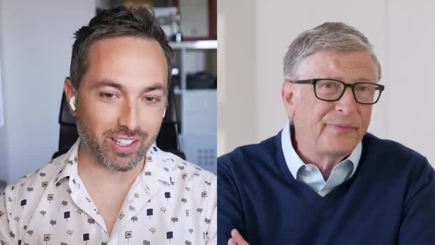 I Asked Bill Gates What's The Next Crisis