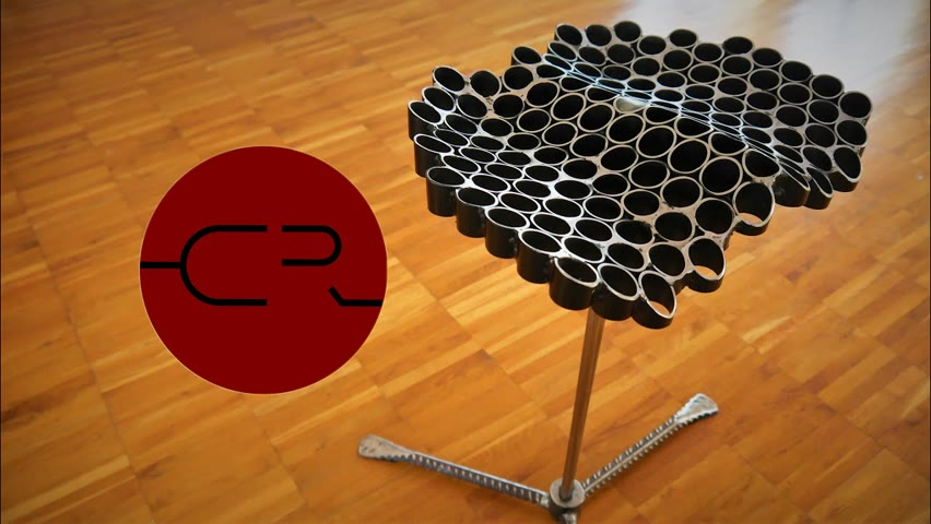 Personal fit steel pipe stool