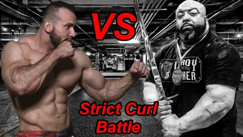 Nizami Tagiyev VS LeRoy The Machine Walker   Battle of the Strict Curl Monsters