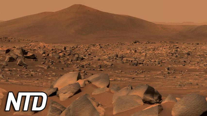 De första stenproverna från Mars kommer till jorden   NTD NYHETER
