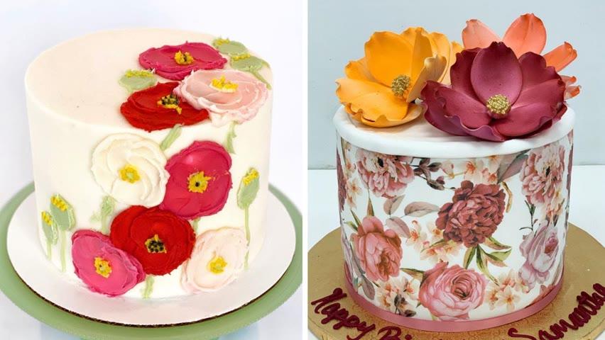 Top 10 Tasty Cake Decorating Ideas | Amazing Cakes Recipes Compilation | So Tasty