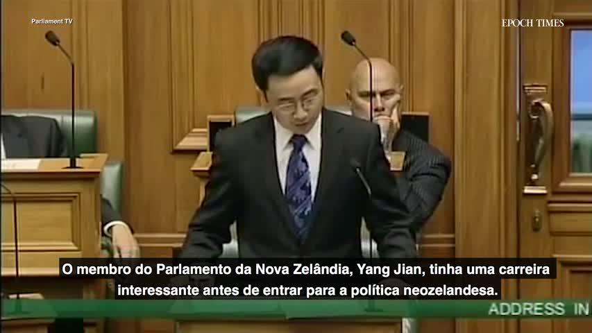 Parlamentar da Nova Zelândia foi um instrutor de espionagem do Partido Comunista Chinês