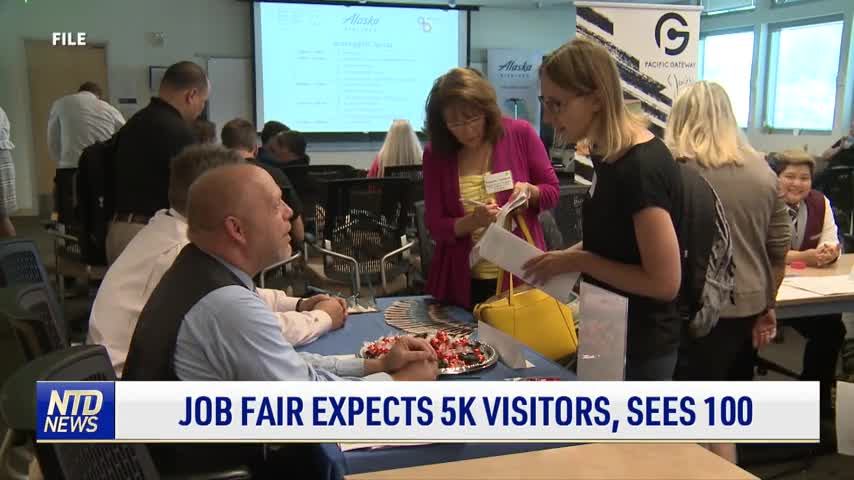 Job Fair Expects 5,000 Visitors, Sees 100