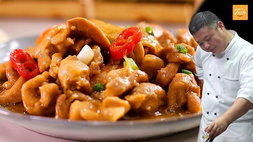 Simple One-Pan Chicken Stir Fry by Masterchef|這是蔥薑雞肉最好吃的做法,滑嫩鮮香 • Taste Show