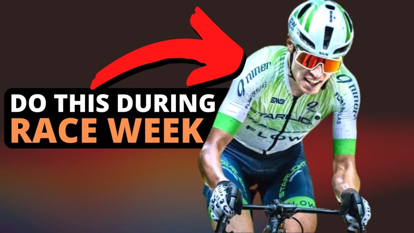 What Your Training Should Look Like on Race Week. The Science