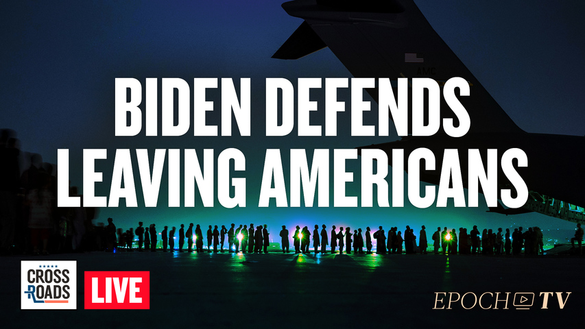 Live Q&A: Biden Defends Leaving Americans In Afghanistan; New Terror War Starts On ISIS