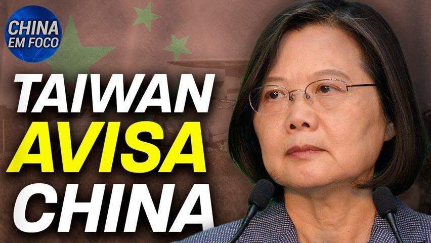 Taiwan: não nos curvaremos à China; Ônibus chinês cai em rio, 13 morrem 2021-10-15 19:36
