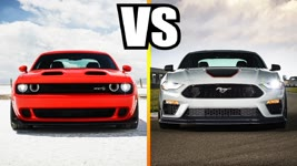 2020 Dodge Challenger Super Stock VS 2021 Ford Mustang Mach 1