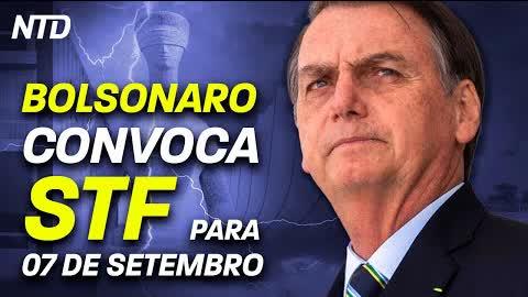 7 de Setembro: veja o que Augusto Nunes, Mário Frias, Bolsonaro e outros disseram sobre a data