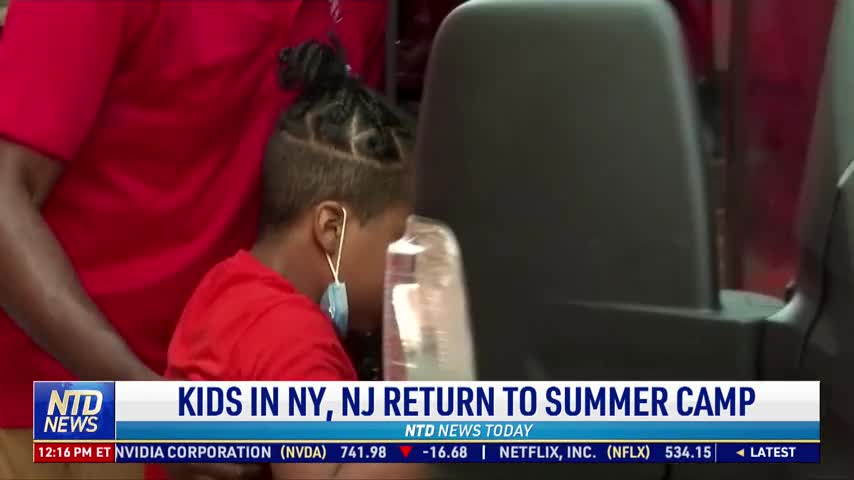 Kids in New York, New Jersey Return to Summer Camp