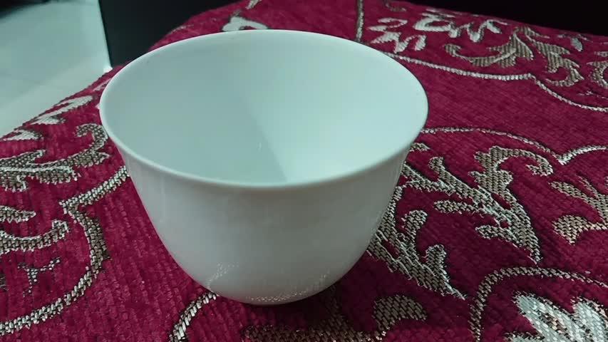 用成化白釉杯说明古代艺术:技艺篇#古董#文物#北京故宫博物院#紫禁城